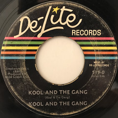 KOOL AND THE GANG:KOOL AND THE GANG(LABEL SIDE-A)