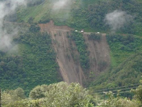Camino a Chiconcuautla afectado 2
