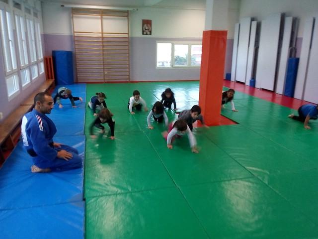 Judo 5 años y 1º