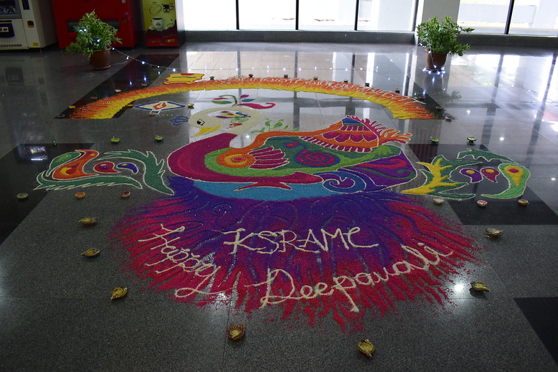 Kolam and Lighting Ceremony