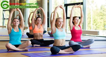 Tập yoga là một cách hiệu quả giúp bạn kiểm soát đường huyết của mình