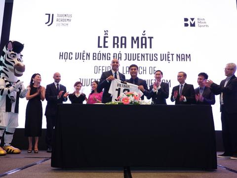 CR7 gửi lời chúc tới Học viện Juventus Việt Nam đặt tại Bà Rịa – Vũng Tàu