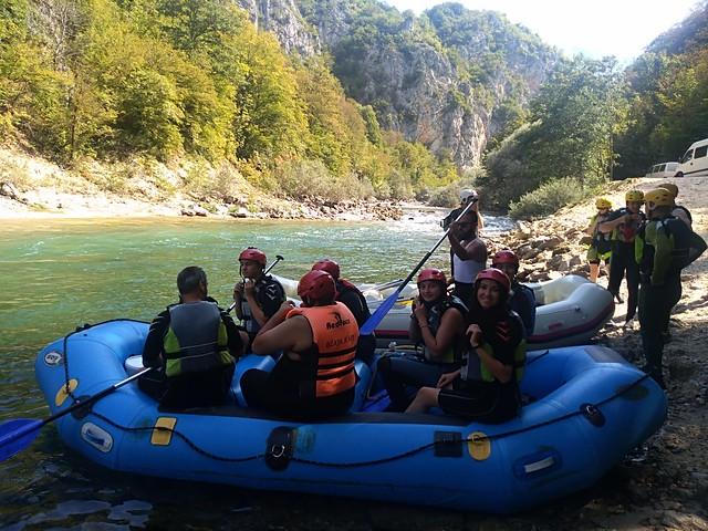 Neretva river in Konjic town