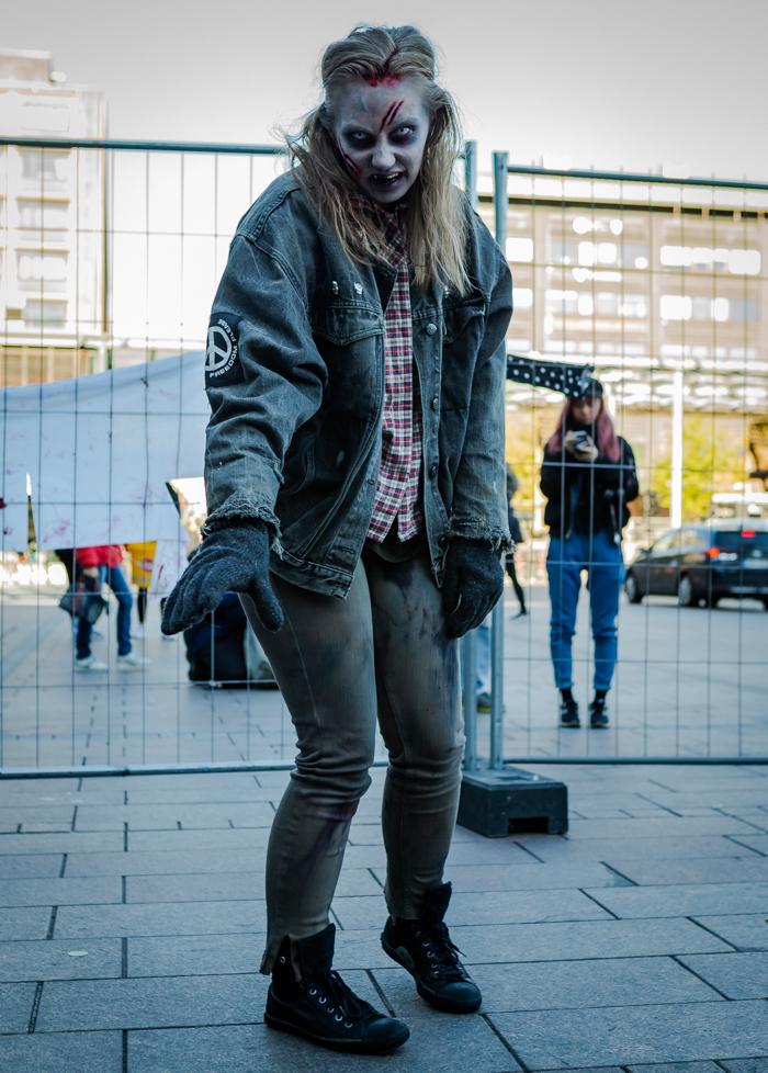 twd walking dead season 9 maskeeraus näyttelijä kauhu