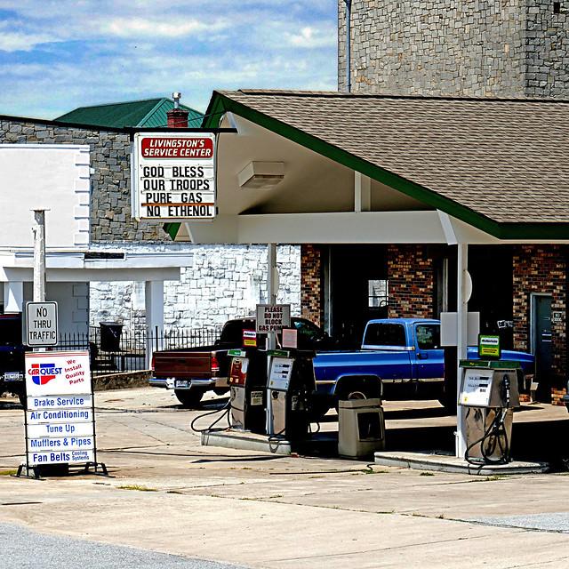 God Bless our Gas - South Carolina, USA