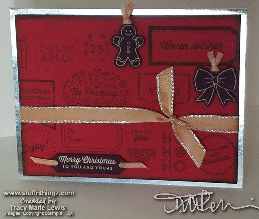 Oct 2018 Colour Combo Blog Hop | Tracy Marie Lewis | www.stuffnthingz.com
