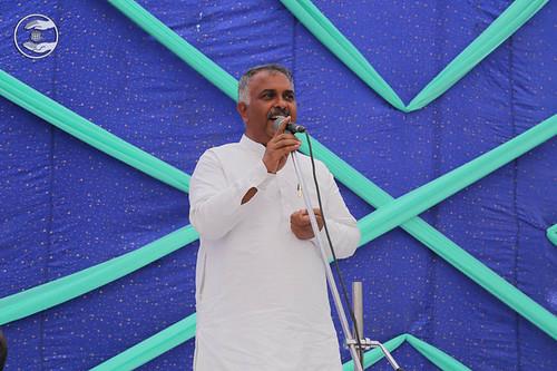 MLA Tarauri, Bhagwan Dass, expresses his views