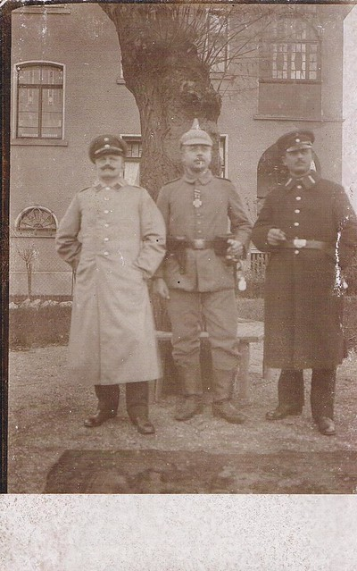 Soldiers on Postcard
