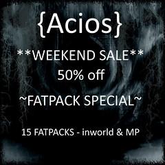 {Acios} Weekend Sale Special Round AD