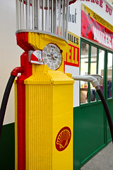 Pompe à essence en Lego
