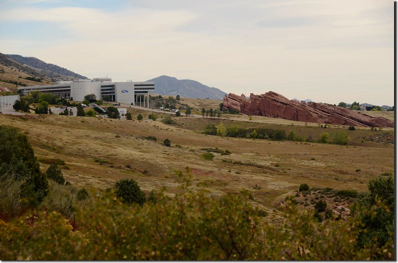 Looking northeast at Lockheed Martin Corporation from Deer Creek Canyon Park 1