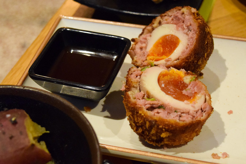 Scotch Egg at Nanban, Brixton