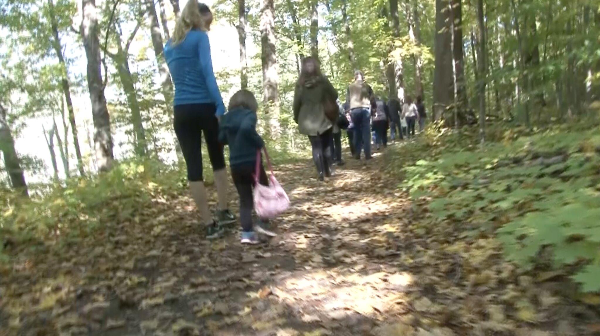 Harris Nature Center Holds Autumn Color Walk