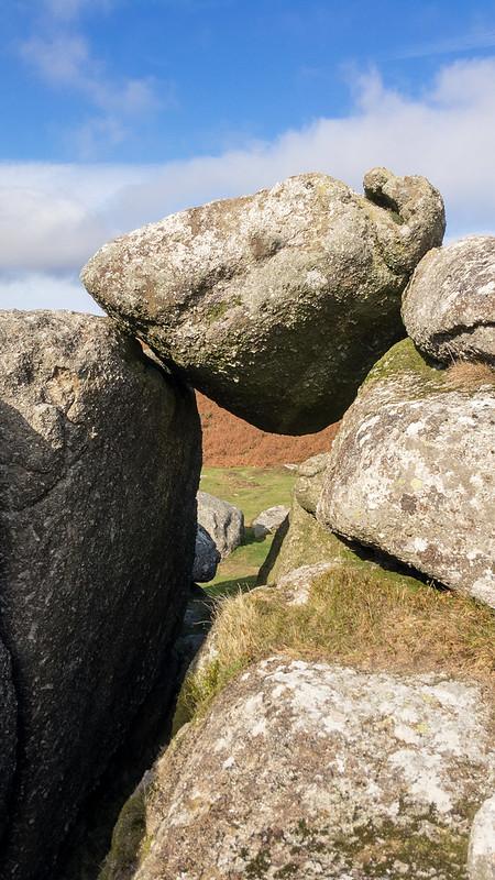 Bell Tor balanced boulder