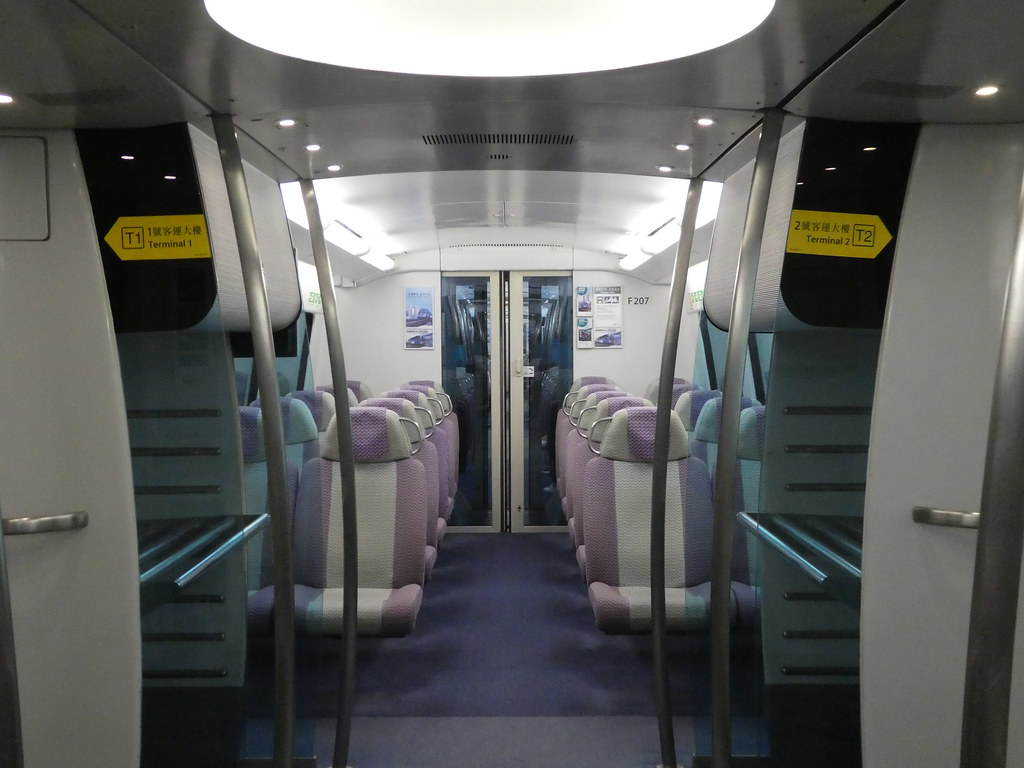 Airport Express to Hong Kong Airport