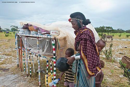 Woodabe Nomad Camp - Tchad (Massenya area)