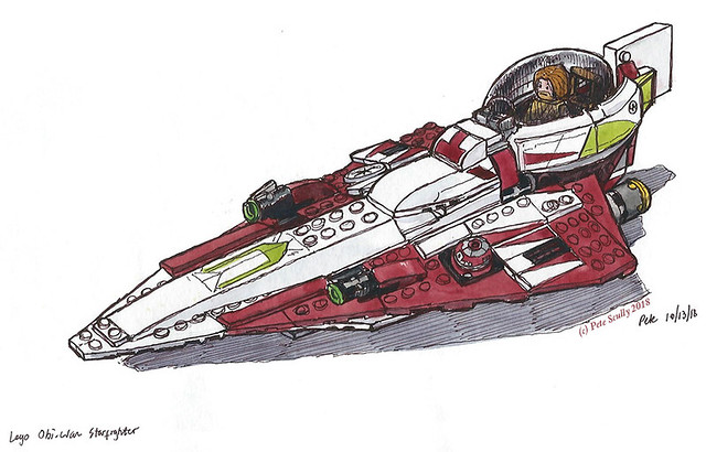 Lego Obi-Wan Starfighter