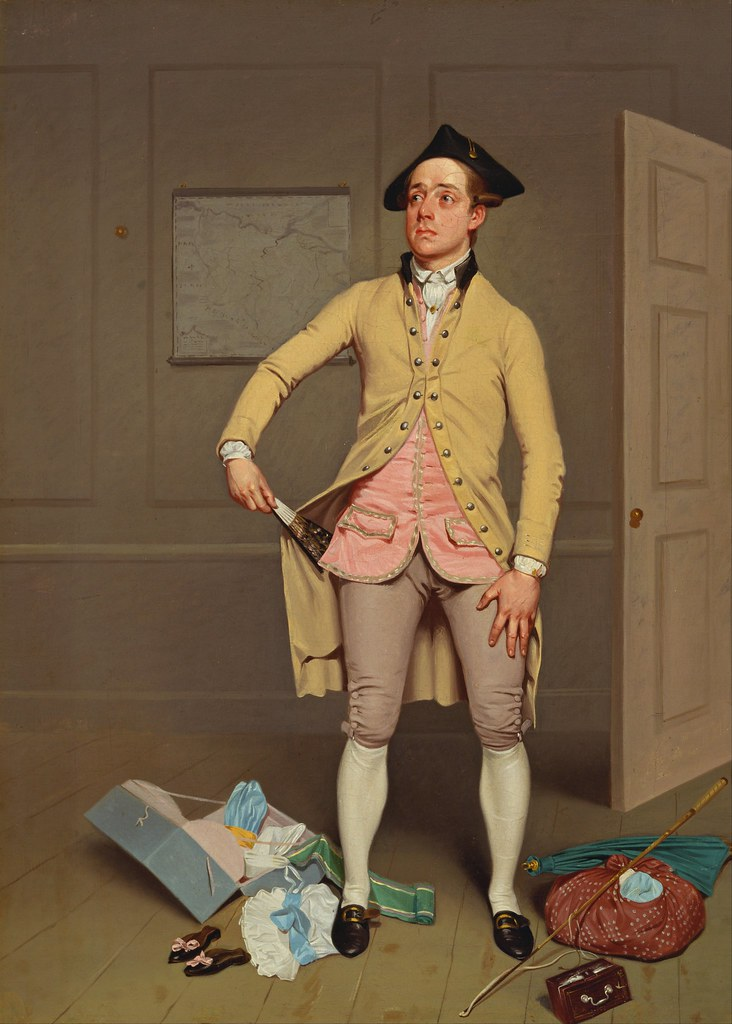 Samuel de Wilde - Samuel Thomas Russell in Samuel Footes The Mayor of Garratt (c.1810)