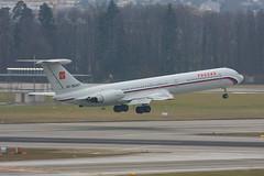 RA-86467 Ilyushin Il-62M Rossiya Special Flight @ Zürich ZRH LSZH