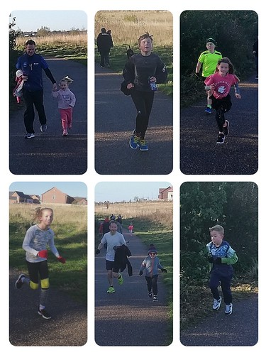 Gedling junior parkrun 28th October 2018
