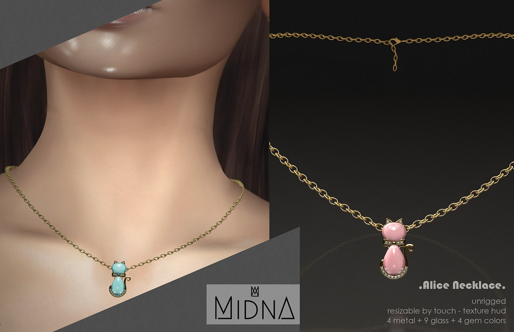 Midna – Alice Necklace