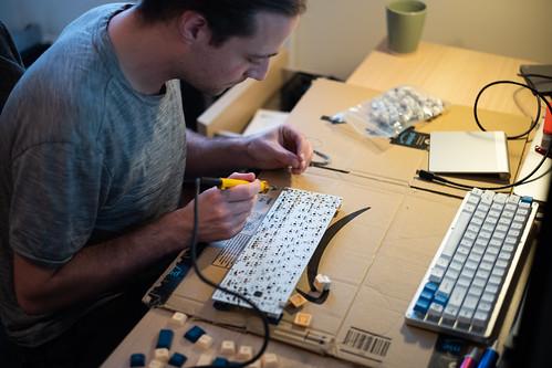More Soldering, Keyboard Build.