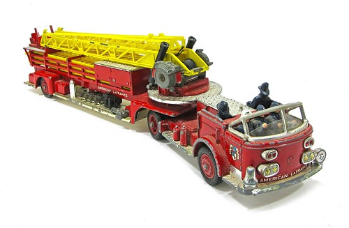 Corgi La France fire engine