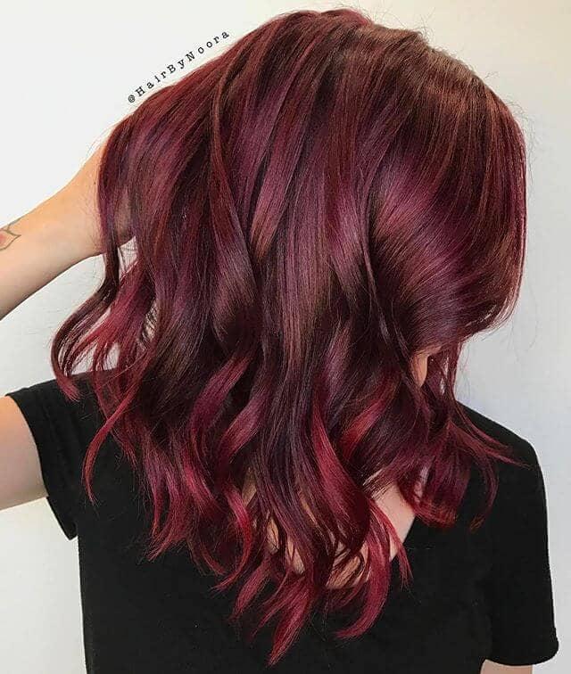 best burgundy hair dye to Rock this Fall 2019 4