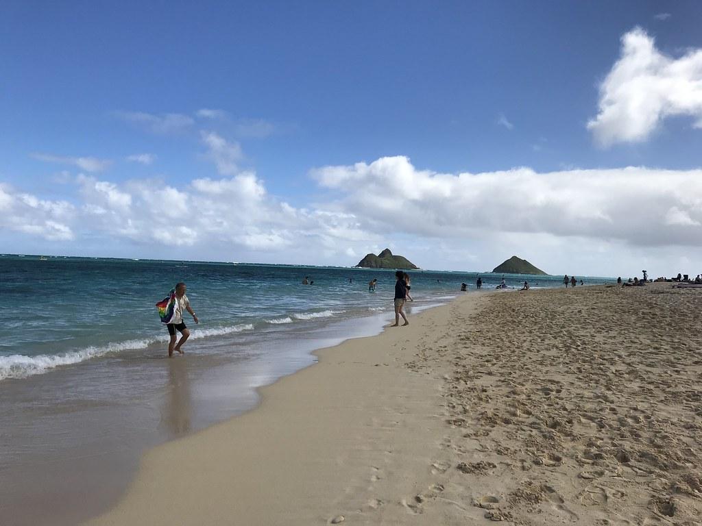 リボ払いについて説明します!写真はハワイのラニカイビーチです!きれいだった…