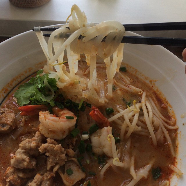 Tom Yam Noodle and Soupe