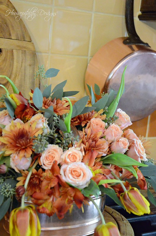 Copper Floral-Housepitality Designs