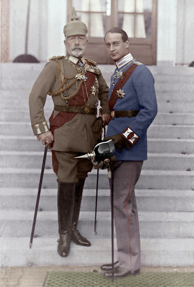 louis_ferdinand_and_wilhelm_ii_by_kraljaleksandar-d36csgn
