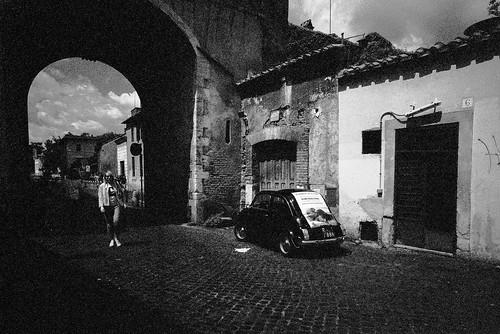 Via di Porta Settimiana, Rione XIII Trastevere, Rome