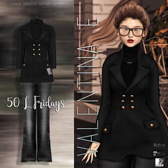 Valentina E. Irina Ensemble Special Edition Grey For 50 L Fridays!