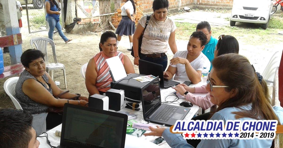 Equipo técnico socializa remisión en Eloy Alfaro