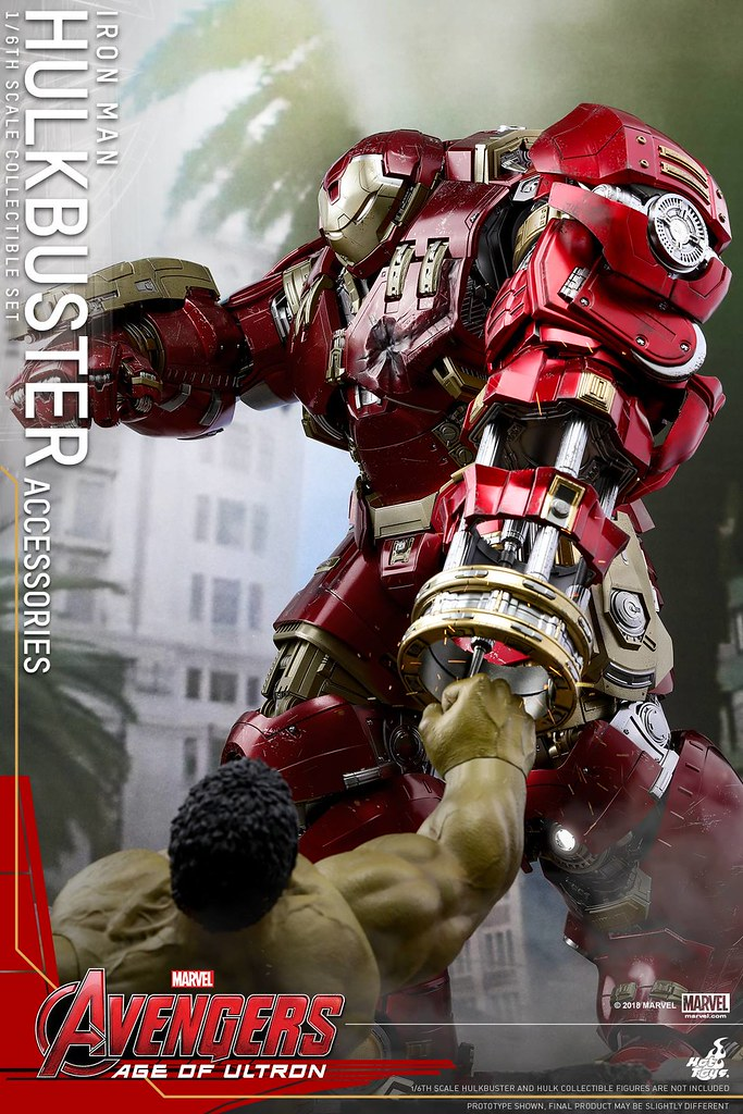 Hot Toys - ACS006 - Avengers: Age of Ultron 1/6th scale Hulkbuster Accessories Set