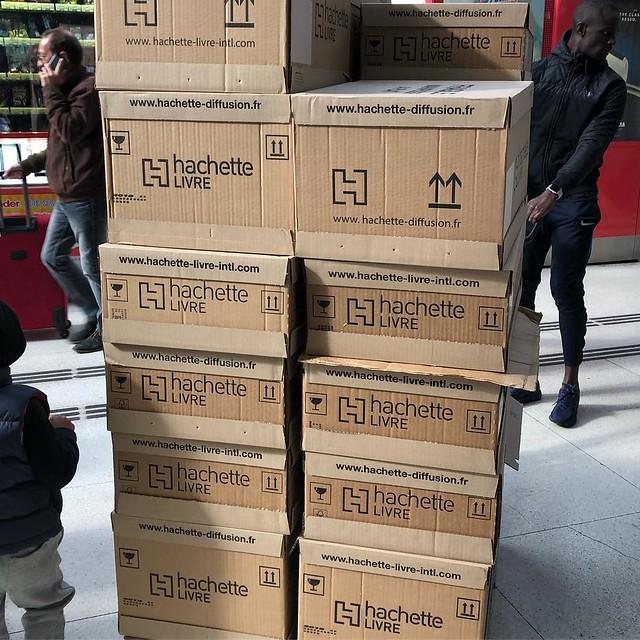 Distribution de livre