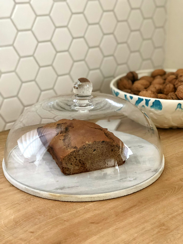 Vegan Banana Walnut Bread