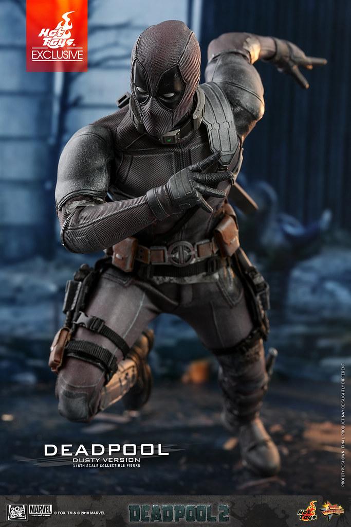 Hot Toys - MMS505 - 《死侍2》1/6 比例 死侍 (灰燼版) Deadpool (Dusty Version)