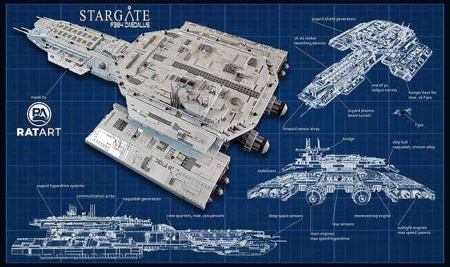 Stargate SG 1 F304 Daedalus