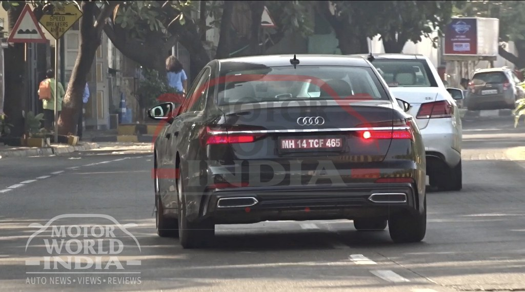 2019 Audi A6 Spotted