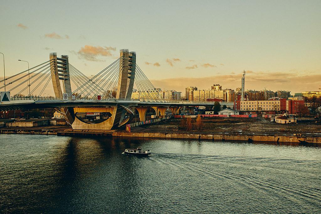 Петроградская сторона, мост Бетанкура