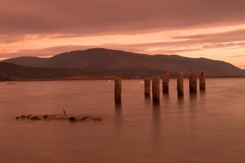parkercove lake okanaganlake sunrise cloudy