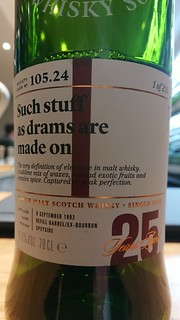 SMWS 105.24 - Such stuff as drams are made on