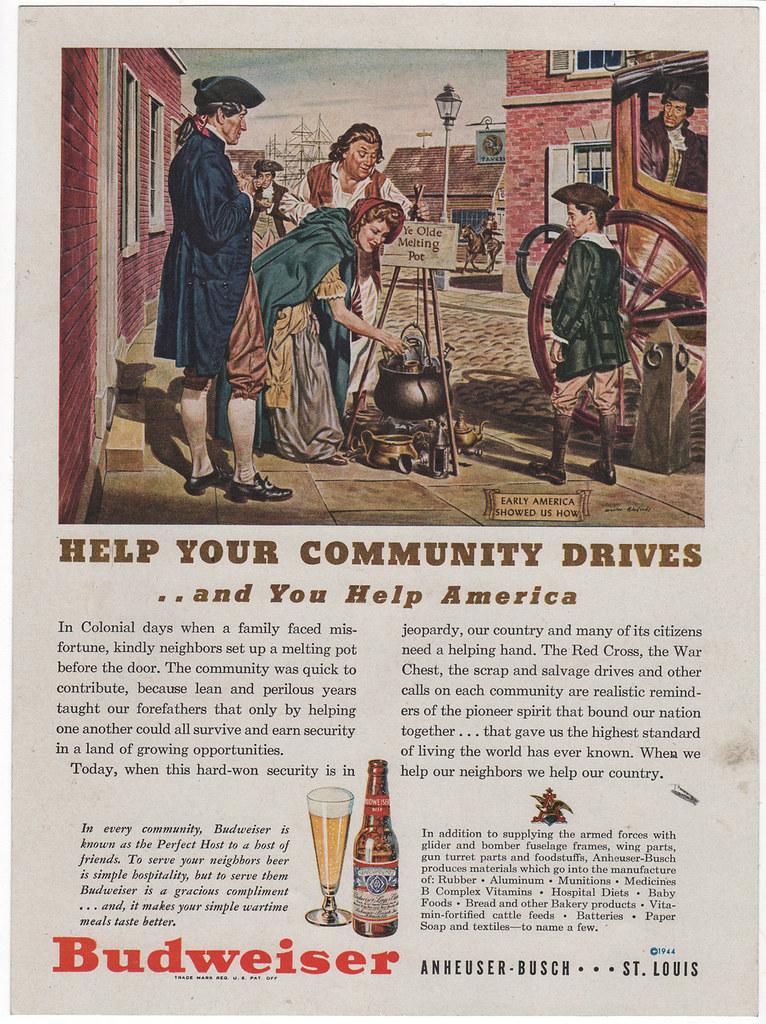 Bud-1944-community-drives