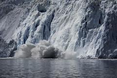 Glacier cracking