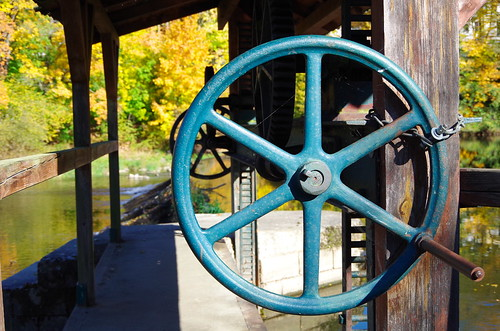a wheel to turn