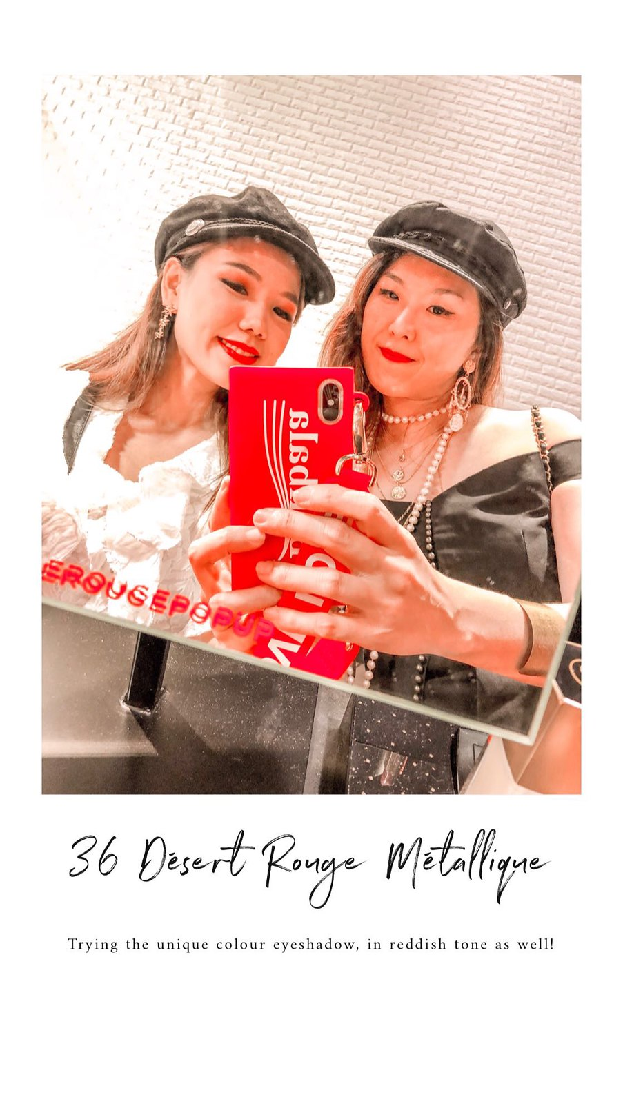 Chanel Le Rouge Pop Up