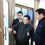 주형환 산업통상부 장관, LG디스플레이 파주 사업장 방문