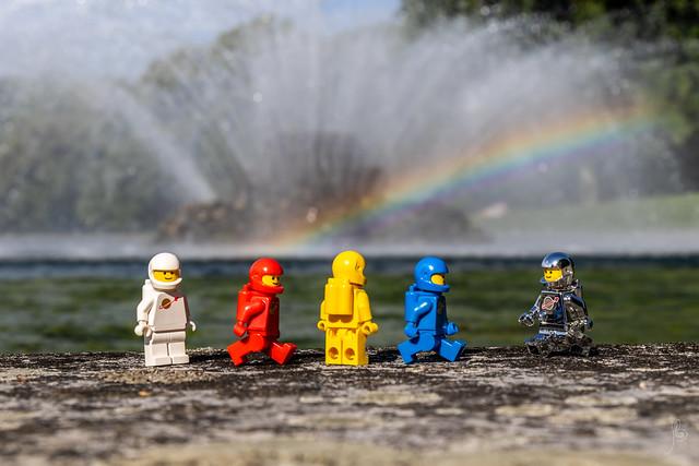 Exploration (#64) - Fountain and rainbow